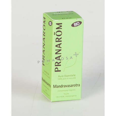 Pranarôm Huile Essentielle Bio Mandravasarotra 10 ml