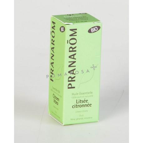 Pranarôm Huile Essentielle Bio Litsée Citronnée 10 ml