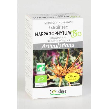 Biotechnie Extrait Sec d'Harpagophytum Bio 60 Comprimés