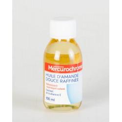 Mercurochrome Huile d'Amande Douce Raffinée 100 ml