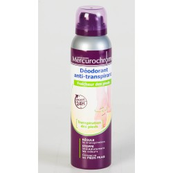 Mercurochrome Déodorant Anti Transpirant 150 ml