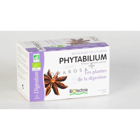 Biotechnie Phytabilium Infusion Bio les Plantes de la Digestion 20 Sachets