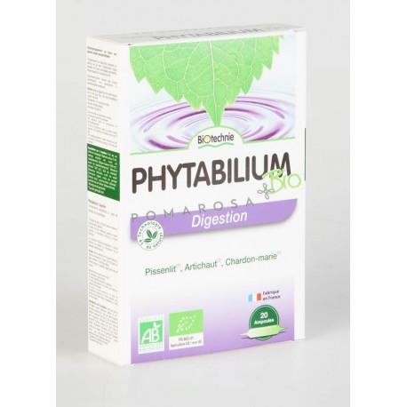 Biotechnie Phytabilium les Plantes de la Digestion 20 Ampoules