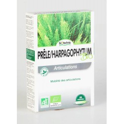 Biotechnie Prêle Harpagophytum Bio 20 Ampoules