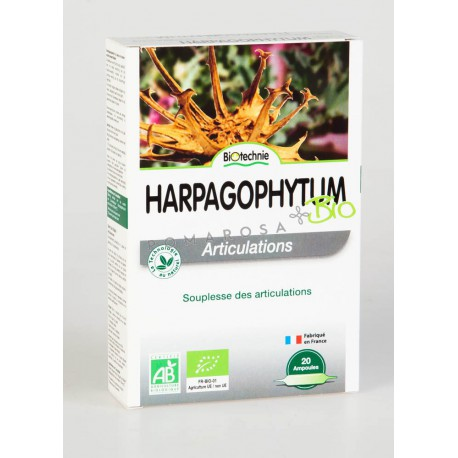 Biotechnie Harpagophytum Bio 20 Ampoules
