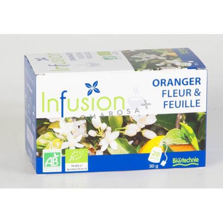 Biotechnie Infusion Bio Oranger Fleur et Feuille 20 Sachets