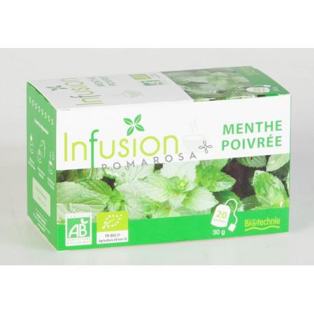 Biotechnie Infusion Bio Menthe Poivrée 20 Sachets