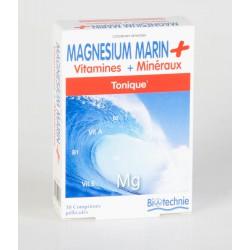 Biotechnie Magnésium Marin Tonique 30 Gélules