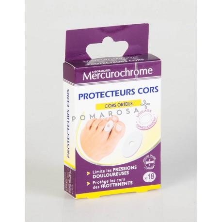 Mercurochrome Protecteur Cors 18 Unités