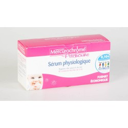 Mercurochrome Pitchoune Sérum Physiologique 40 unidoses