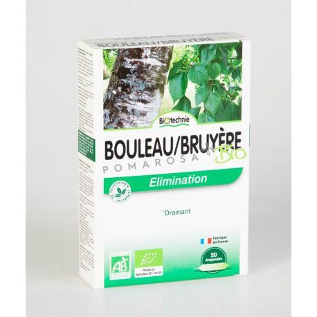 Biotechnie Bouleau Bruyère Bio 20 Ampoules