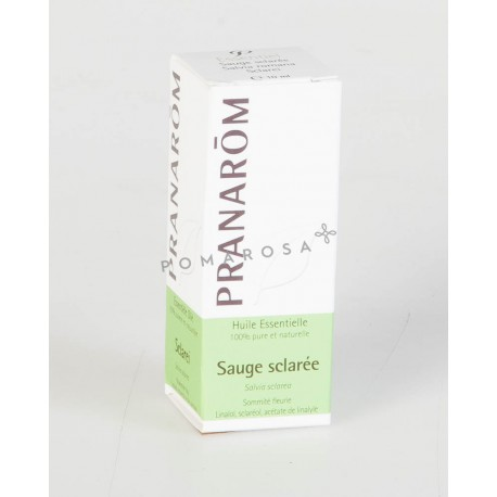Pranarôm Huile Essentielle Sauge Sclarée 10 ml