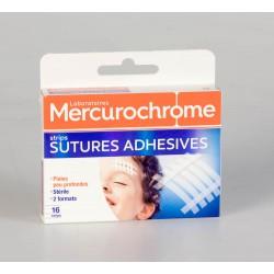 Mercurochrome Pansements Sutures Adhésives 16 Unités