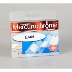 Mercurochrome Pansements Bain 16 Unités