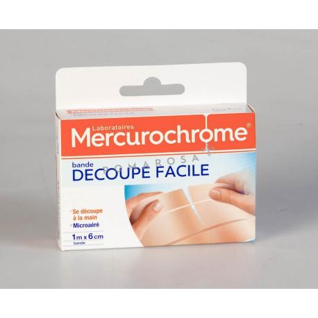 Mercurochrome Bande Découpe Facile 1 x 6 cm 1 Unités