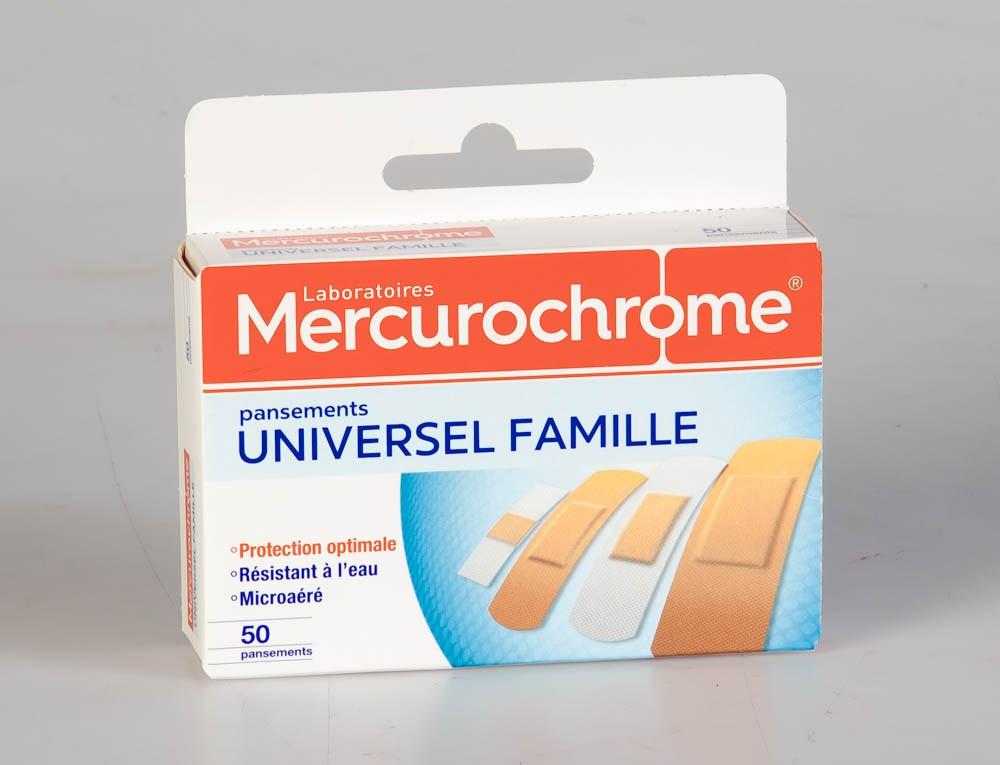 Mercurochrome Pansement Universel Famille 50 Unités 52a97e54e525