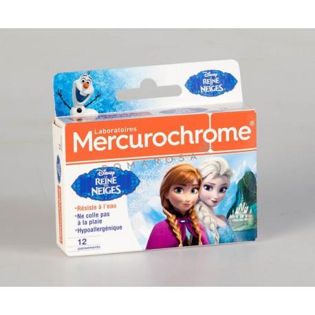 Mercurochrome Pansements Reine des Neiges 12 Unités
