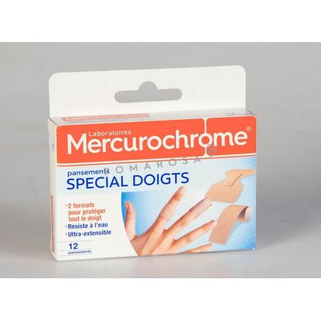 Mercurochrome Pansements Doigts 12 Unités