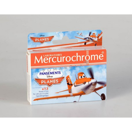Mercurochrome Pansements Disney Planes 12 Unités