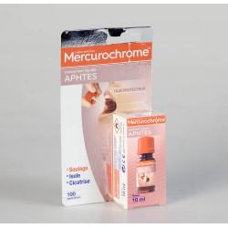 Mercurochrome Pansement Liquide Aphtes 10 ml
