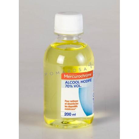 Mercurochrome Alcool à 70° Modifié 200 ml