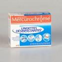 Mercurochrome Lingettes Désinfectantes 12 Unités