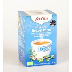 Infusion Yogi Tea pour une Respiration Profonde