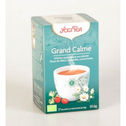 Tisane Yogi Tea Grand Calme 17 Sachets