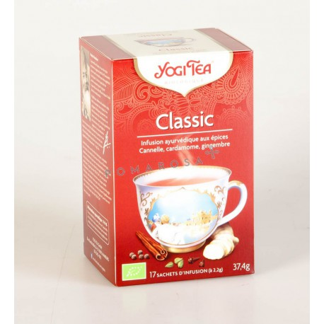 Thé Yogi Tea Classic 17 Sachets