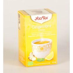 Thé Yogi Tea au Gingembre Citron
