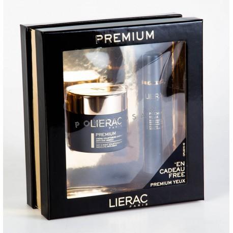 Lierac Coffret Premium Crème Voluptueuse Jour et Nuit 50 ml + Premium Yeux Offert
