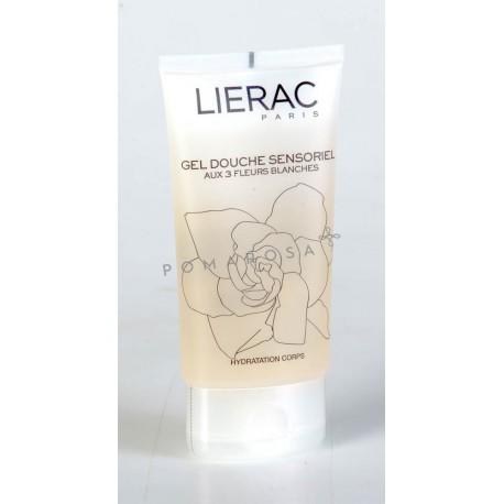 Lierac Gel Douche Sensoriel aux 3 Fleurs Blanches 150 ml