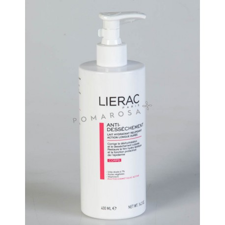Lierac Lait Anti Dessèchement 400 ml