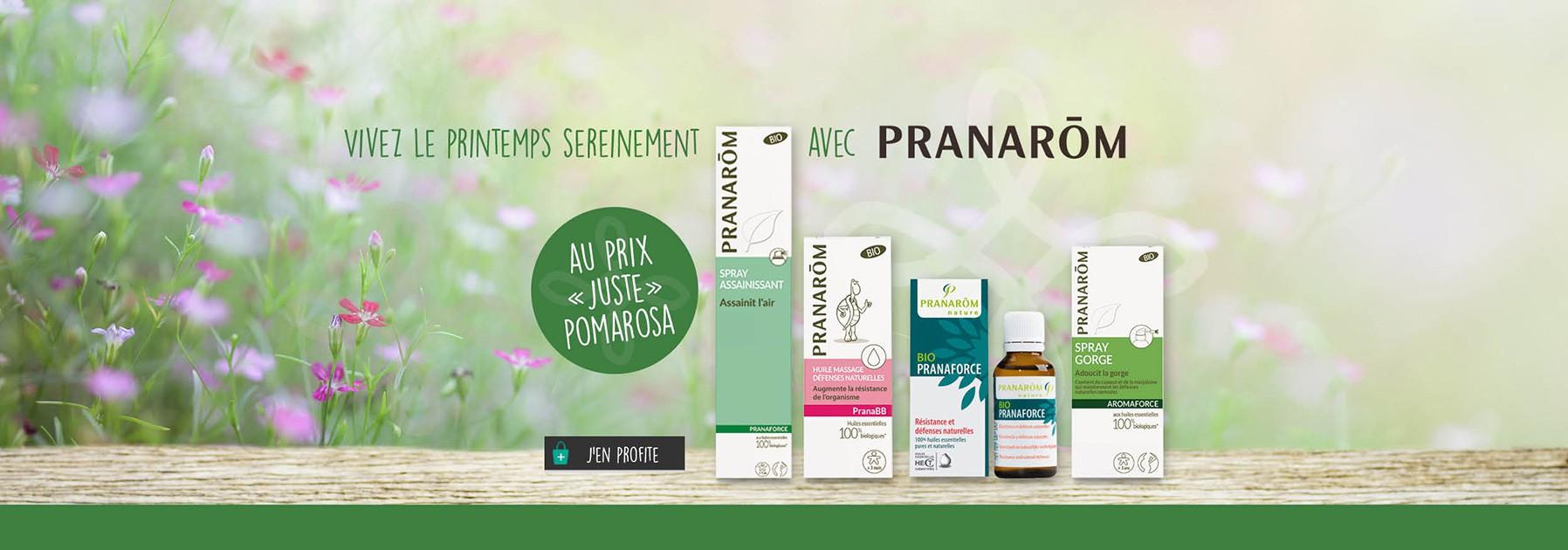 Pranarom, huiles essentielles et aromathérapie