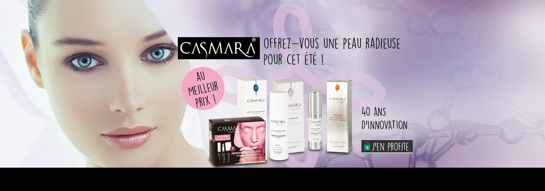 Les produits Casmara, une haute technologie à prix accessibles sur Pomarosa