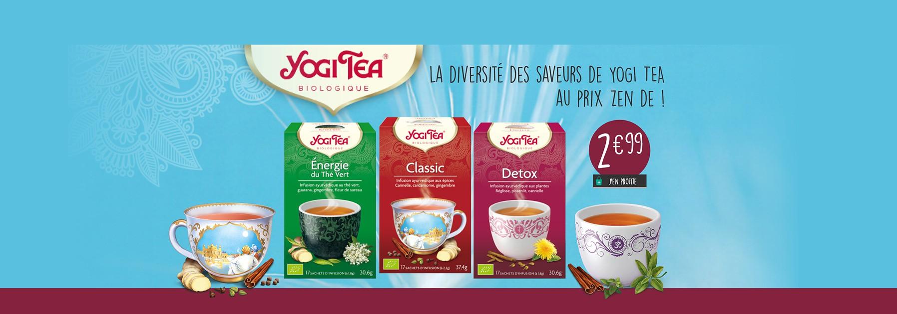 Thés et infusions Yogi Tea